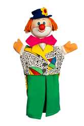 Clown - hand puppet
