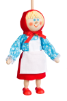 Little Red Riding Hood - puppet without thread