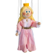 Princess - wooden marionett