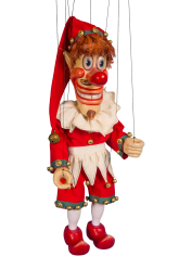 Buffoon - wooden marionette