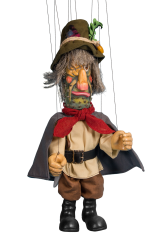 Highwayman 2 - wooden marionett