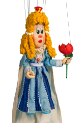 Princess - wooden marionette