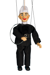 Chimney sweeper - plaster puppet