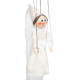 White Lady - wooden puppet
