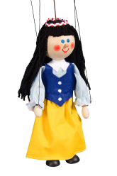Snow White - wooden puppet