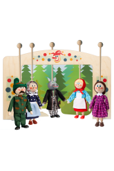Puppet theater - Red Riding Hood