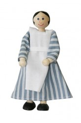 Housemaid Jane - wooden toy