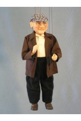 Grandfather - wooden puppet